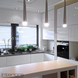 Rectangular-shaped kitchen