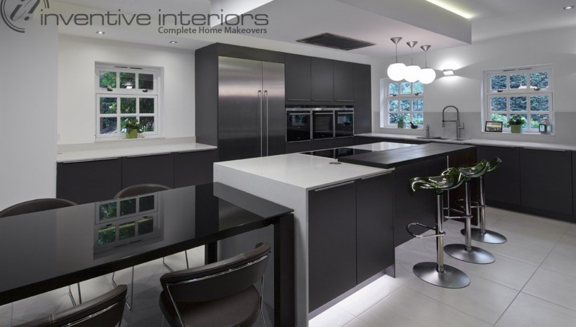 Modern family kitchen design