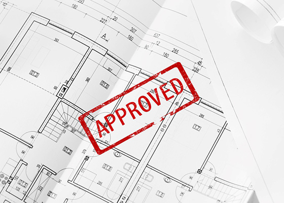 Planning application for your build