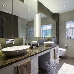 Spacious bathroom design ideas
