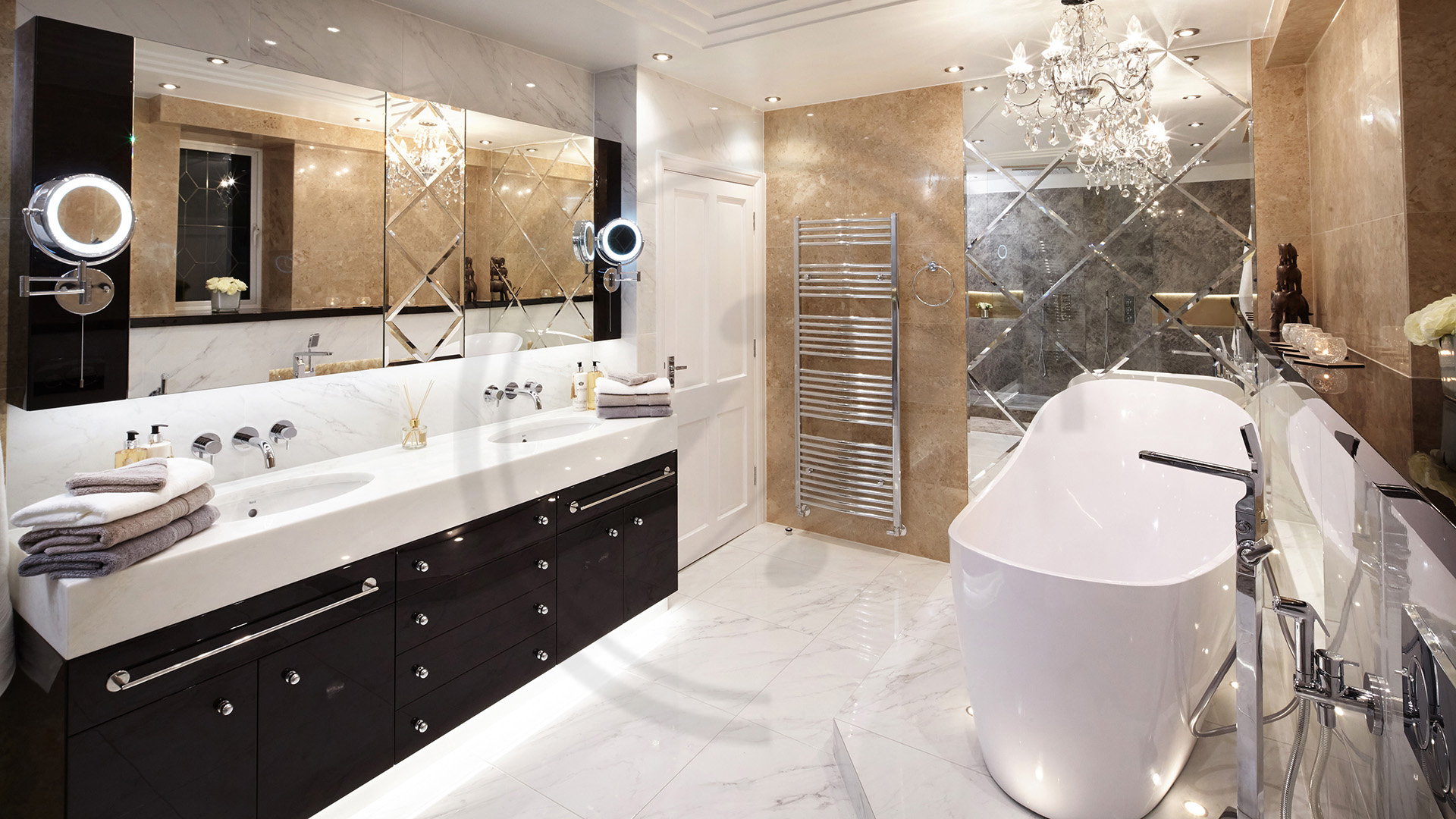 interior-designer-London-interior design loughborough_master bathroom with free standing bath